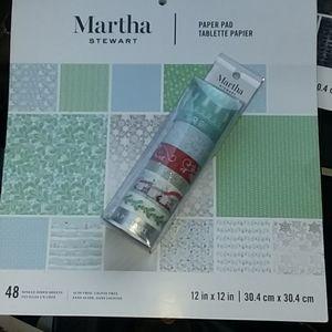Martha Stewart Crafting Bundle - Winter/Christmas